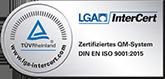 LGA InterCert Zertifikat DIN EN ISO 9001:2015