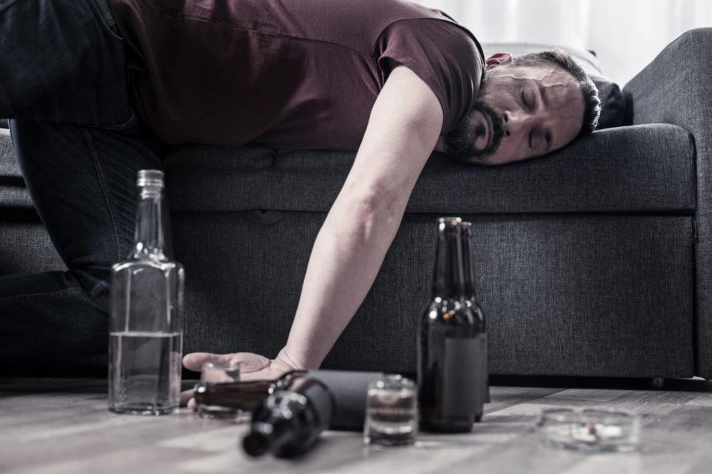 Alkohol-Absturz: Was ist das?